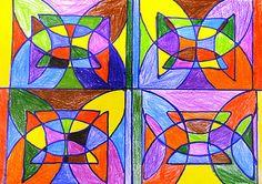 Frank Stella protracter designs