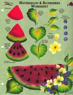 dewberry rtg | Watermelon and blueberries