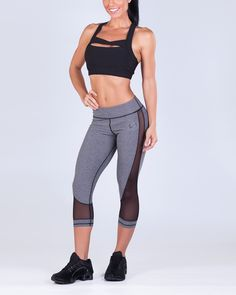 03c8160b0e TLF Apparel Womens s Infinity Trance Capri xLarge Graphite Heather -- Learn  more by visiting the image link.