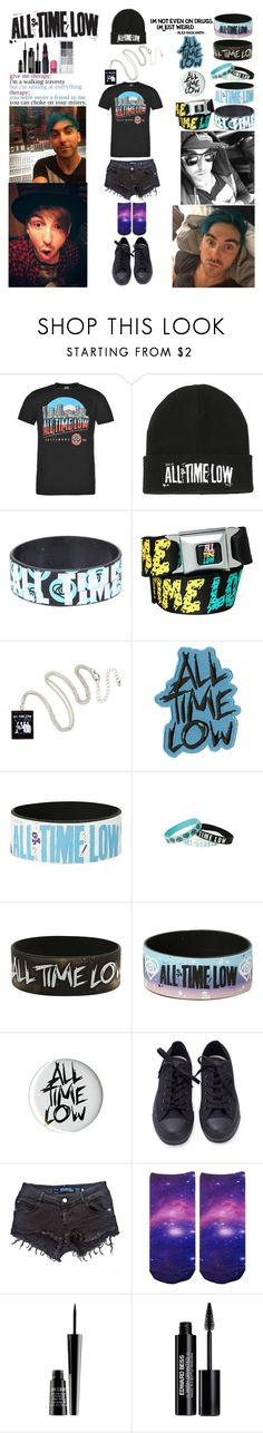 """""""a l l - t i m e - l o w"""" by moonchildxxx ❤ liked on Polyvore featuring Hot Topic, Therapy, Brandy Melville, Lord & Berry, Edward Bess and Sugarpill"""