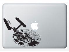 USS Enterprise NCC 1701 Serie 2 Laptop Notebook Macbook by srisupa, $8.99