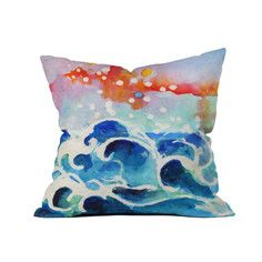 """Tides Of Time Throw Pillow 18"""", $45, now featured on Fab."""