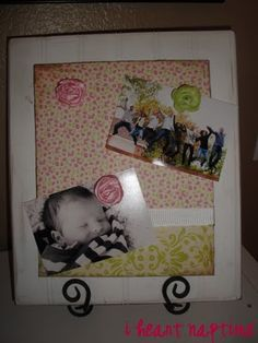 Dressed up Magnet Board (Tutorial), Magnet Boards & Magnet Crafts