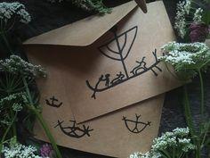 Handmade Cards with Petroglyph Ship designs — NorneWoven Iron Age, Birthdays, Greeting Cards, Prints, Handmade, Design, Anniversaries, Hand Made