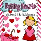 This mini-unit is full of fun activities..some of them which are based on the adorable and popular Valentine's Day book...The Day it Rained Hearts ...