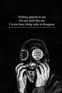 Resultado de imagen para sad lyrics of slipknot Slipknot Quotes, Slipknot Lyrics, Rap Metal, Band Quotes, Lyric Quotes, Qoutes, Cool Lyrics, Music Lyrics, Death Metal