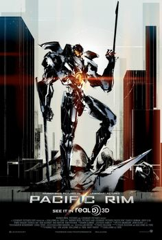 Pacific Rim. Chloe's favorite movie. She is such a bad ass!