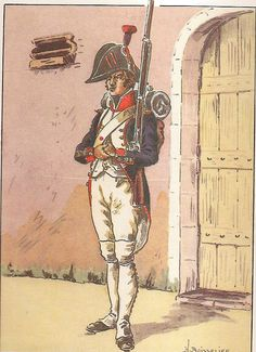 French; 18th Line Infantry, Fusilier, 1805
