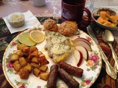 Decadent breakfast - Nothing Naughty Going On Here. Really! | Schroon Lake, New York