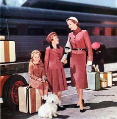 Vintage travel, 1953