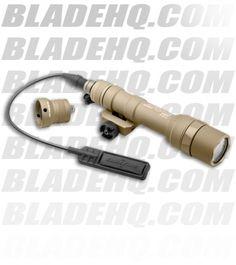 Surefire M600U Ultra Scout Light Tan LED Weaponlight (500 Lumens) M600U-A-TN - Blade HQ