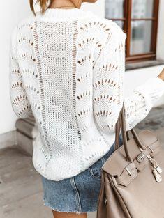 Knitting Patterns Free, Free Pattern, Knitting Ideas, Knitting Socks, Knit Crochet, Pullover, How To Make, Knits, Style