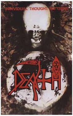 Death Individual Thought Patterns Album Cover Music Poster 11x17 – BananaRoad