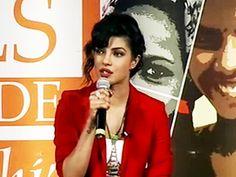 Priyanka Chopra, brand ambassador for 'NDTV Vedanta Our Girls Our Pride' http://ndtv.in/14wuCc7