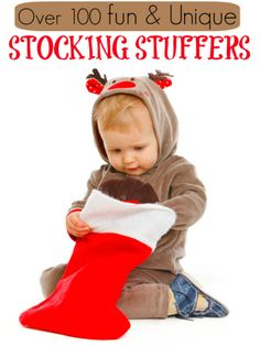 I LOVE this list fun and unique stocking stuffers