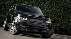 RS-600 Performance Edition Range Rover 3.0 TDV6 Vogue, Santorini Black, Perforated Black Leather Interior by Kahn