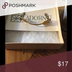 I Adorn U brass arrow bracelet I Adorn U brass arrow bracelet by Mary Beth Heishman.  Gorgeous simple bracelet I won at an auction but I don't wear bracelets I Adorn U Jewelry Bracelets