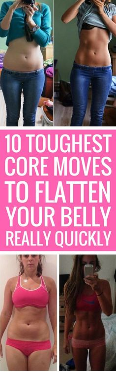 10 Tough Core Exercises To Flatten Your Belly.