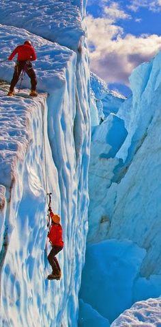 Alaska Ice Climbing. #MeetTheMoment