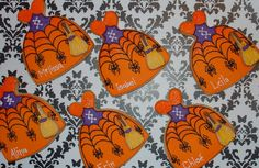halloween dress cookies by Montreal Confections