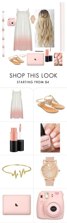 """""""Color"""" by lifeofmarta ❤ liked on Polyvore featuring Accessorize, MAC Cosmetics and Bling Jewelry"""