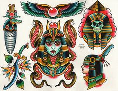 Tattoo Flash by Aaron Franchione. #inked #ink #flash #tattoo #tattooflash #ancient