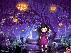 #gorjuss #wallpaper #halloween