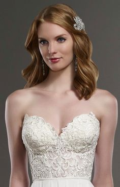 Martina Liana - Celia Corset @ Town & Country Bridal Boutique - St. Louis, MO - www.townandcountrybride.com