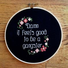 Not your grandma's cross stitch @Malarie Woolsey Can You seriously make this for me?!??! bahahahah