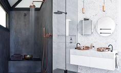 6 fantastiska badrum som vi älskar och inspireras av just nu - Metro Mode