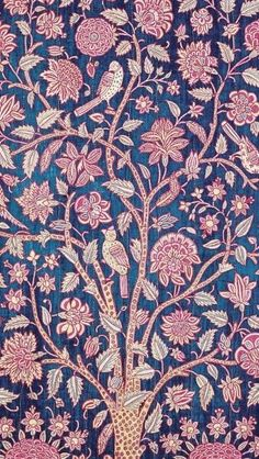 Books from the V&A Patterns series. Фрески - V&A Patterns. Indian textiles – Late to century - Indian Prints, Indian Textiles, Indian Fabric, Vintage Textiles, Indian Art, Indian Patterns, Textile Patterns, Textile Prints, Textile Design