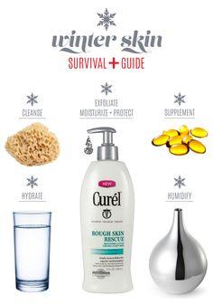 Winter Skin Survival Guide via Mrs. Lilien #WinterSkinRescue #Spon