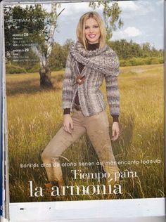 Laura Nº15 (Moda de Punto) Plaid Scarf, Magazines, Books, Fashion, Role Models, Knit Fashion, Knitting Charts, Urban, Journals