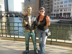 The Fonz - Riverwalk - Milwaukee WI