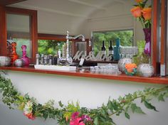 A Vintage 50's Inspired Caravan for all occasions Bar, Cafe or Decor Hire.  Every moment is a memory.