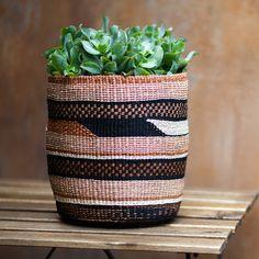 NYUMBA: Handwoven basket Handmade African basket Basket