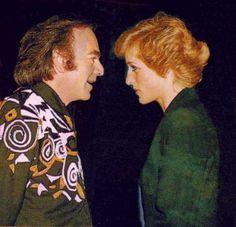 Diana and Neil Diamond.  Neiiiiilllllllllllll!