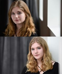 Awesome headshots = not a bad way to start an acting career.