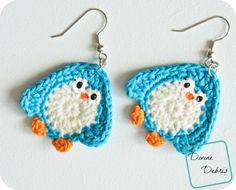 (free) Penguin applique crochet patterns by DivineDebris.com