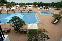 Pool Area at Dusit Thani Resort in Pattaya Thailand