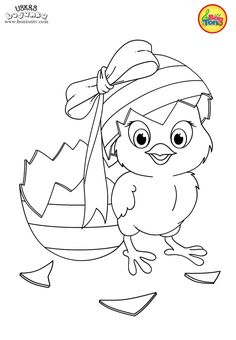 Easter coloring pages - Uskrs bojanke za djecu - Free printables, Easter bunny, eggs, chicks and more on BonTon TV - Coloring books Easter Bunny Colouring, Easter Coloring Pages, Coloring Sheets For Kids, Cartoon Coloring Pages, Disney Coloring Pages, Printable Coloring Pages, Colouring Pages, Coloring Books, Cute Kids Crafts