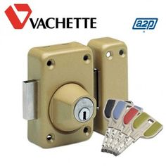 Verrou Vachette Radial NT+ très haute sécurité A2P* livré avec 4 clés couleurs. Choisissez votre dimension, éventuellement le nombre de clés supplémentairess. Expédié rapidement par Vachette Directement chez vous. Colors