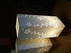 Japanese mino paper Lamp .  mino Gifu Japan .