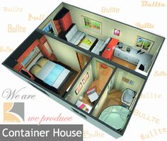 1 bedroom with small office