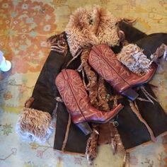 R soles  Cowboy boots Vintage beautiful R soles designed by Judy Rothschild   leather beautiful detailed. Never worn 💕💕 R soles judith rothchild Shoes Heeled Boots