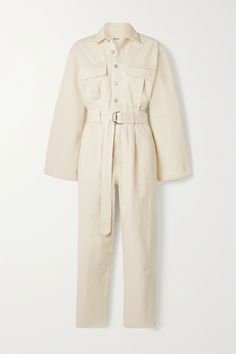 17 Easy Spring Outfit Ideas That Fashion Girls Always Come Back To Basic Outfits, Simple Outfits, Wardrobe Basics, Capsule Wardrobe, Girl Fashion, Fashion Outfits, Spring Fashion, White Jumpsuit, Straight Leg Pants