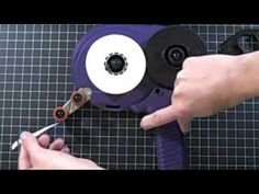 How to reload your ATG tape--just used it today!