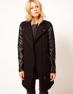 i want this without the asymmetrical zipper front. help.
