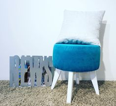 Open! Furnitures, Ottoman, Chair, Home Decor, Room Decor, Stool, Home Interior Design, Side Chairs, Home Decoration