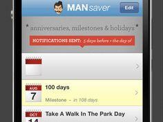 Man Saver iPhone App